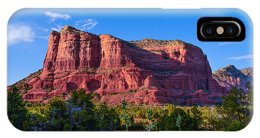 Sedona IPhone X Case featuring the photograph Sedona Arizona by Michael Moriarty