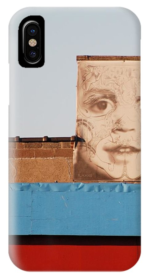Brooklyn IPhone X Case featuring the photograph The Face by Rob Hans