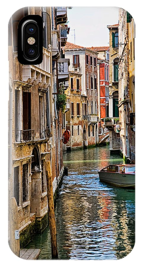 Architectural IPhone X Case featuring the photograph Venice by David Davis