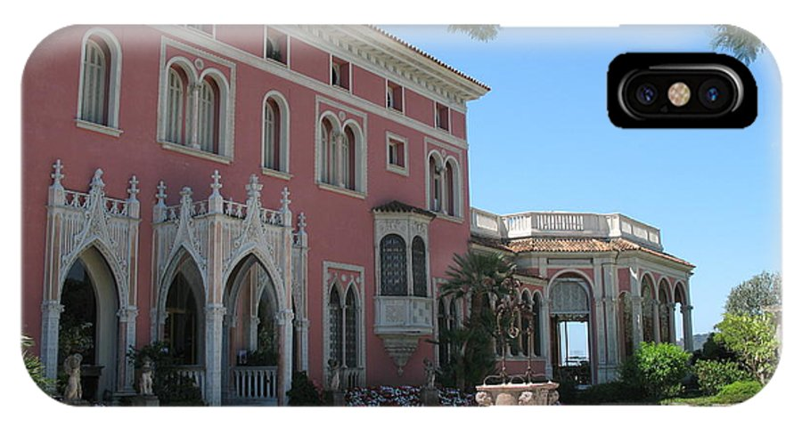 Villa IPhone X Case featuring the photograph Villa Ephrussi De Rothschild by Christiane Schulze Art And Photography