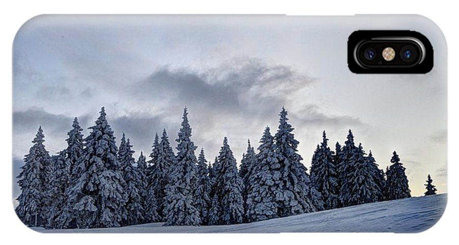 Adventure IPhone X Case featuring the photograph Winter by Ivan Slosar
