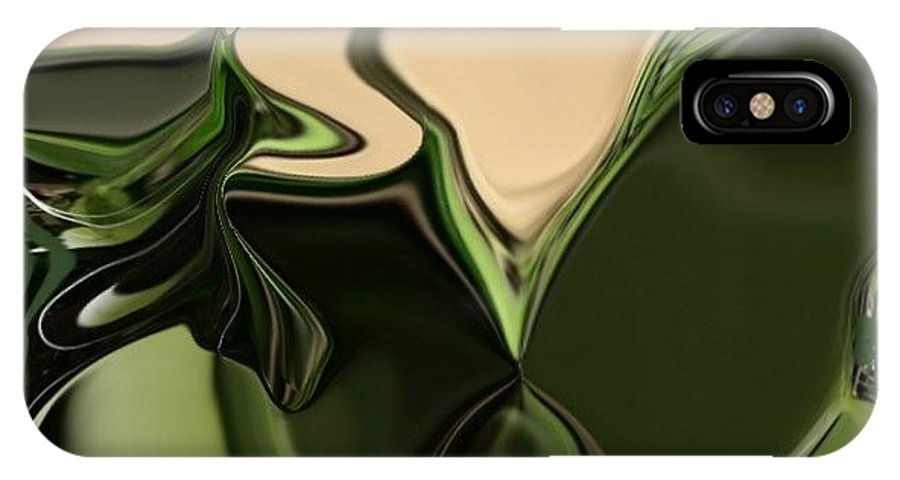 Abstract Digital Art Photographs Paintings Digital Art Digital Art Photographs Digital Art Digital Art Photographs Digital Art IPhone X Case featuring the digital art Digital Art by HollyWood Creation By linda zanini