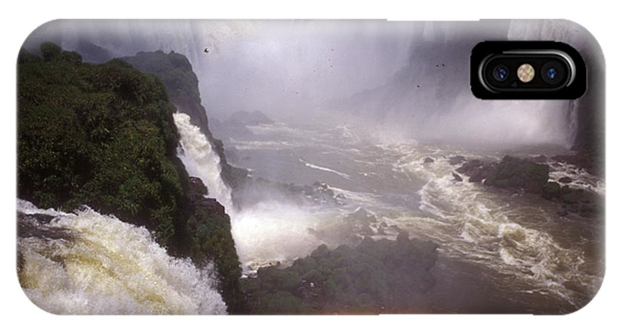 Alvar IPhone X Case featuring the photograph Iguazu Falls National Park, Argentina by Javier Etcheverry