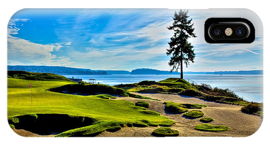 15 At Chambers Bay Golf Course Location Of The 2015 U S Open Tournament Iphone X Case For Sale By David Patterson