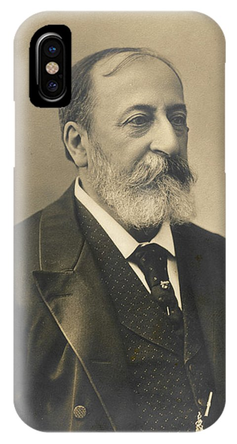 Saint IPhone X Case featuring the photograph Charles-camille Saint-saens, French by Mary Evans Picture Library