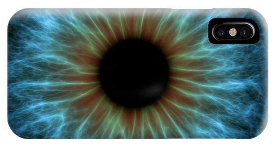 Anatomy IPhone X Case featuring the photograph Eye by Pasieka