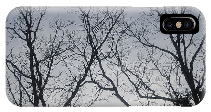 Trees IPhone X Case featuring the photograph God Made Trees by Natacha Nyema