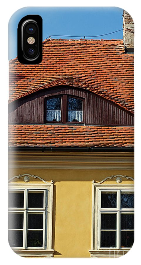Architecture IPhone X Case featuring the photograph Old House by Sarka Olehlova