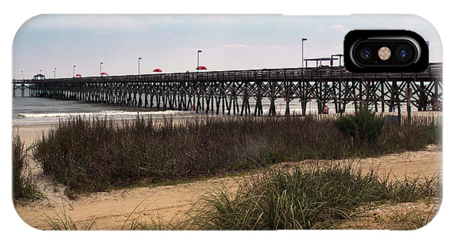 Pier IPhone X Case featuring the photograph Pier by Robert Graybeal
