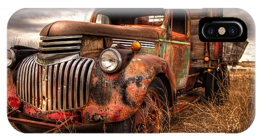 Truck IPhone X Case featuring the photograph 40 Something by Tim Price