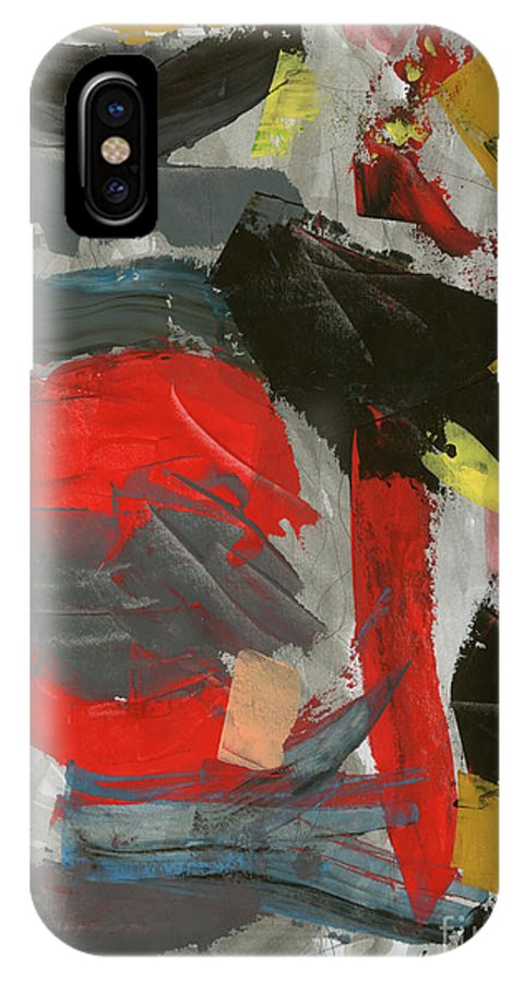IPhone X Case featuring the painting Untitled by Taylor Webb