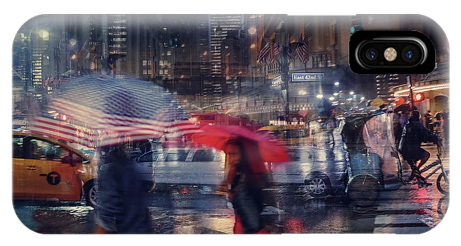 Us IPhone X Case featuring the photograph Untitled by Massimo Della Latta
