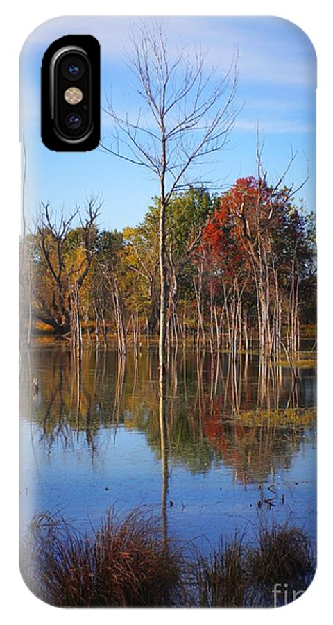 IPhone X Case featuring the photograph Autumn 2013 by Chet B Simpson