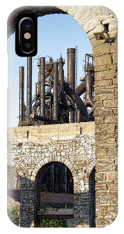 Bethlehem Steel IPhone X Case featuring the photograph Bethlehem Steel by Michael Dorn