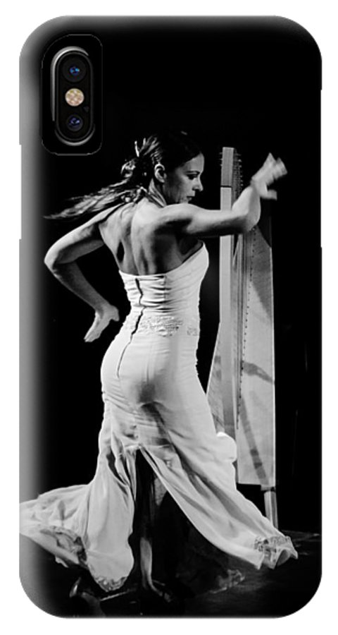 Flamenco IPhone X Case featuring the photograph Flamenco by Andrea Mazzocchetti