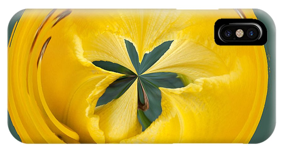 Orb IPhone X Case featuring the photograph Flower by Robert Graybeal