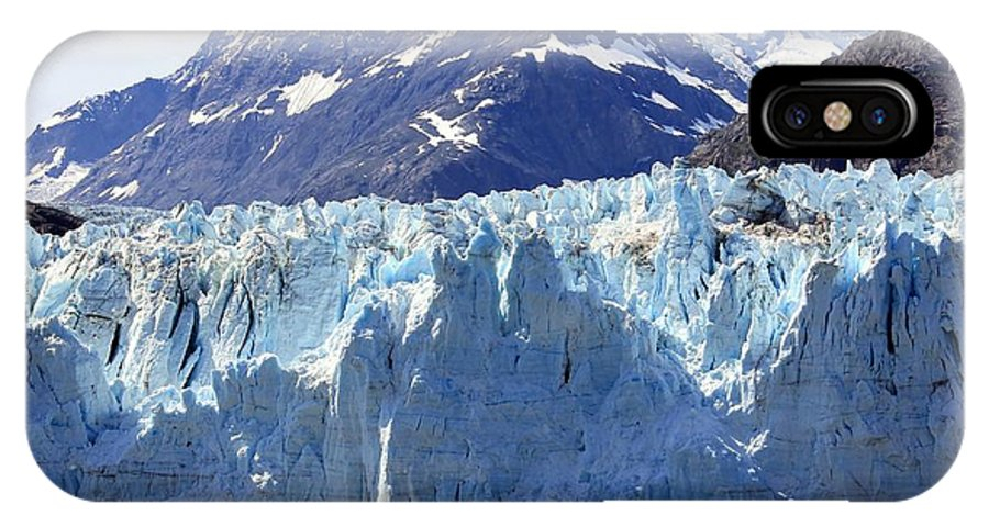 Photography IPhone X Case featuring the photograph Glacier Bay Alaska by Sophie Vigneault