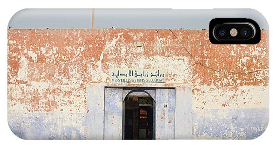 Kasbah IPhone X Case featuring the photograph Morocco, Marrakesh by Santiago Vidal - Vwpics