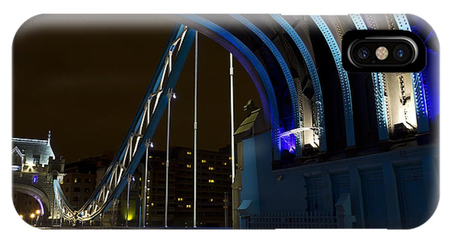 Tower Bridge IPhone X Case featuring the photograph Tower Bridge London by David Pyatt