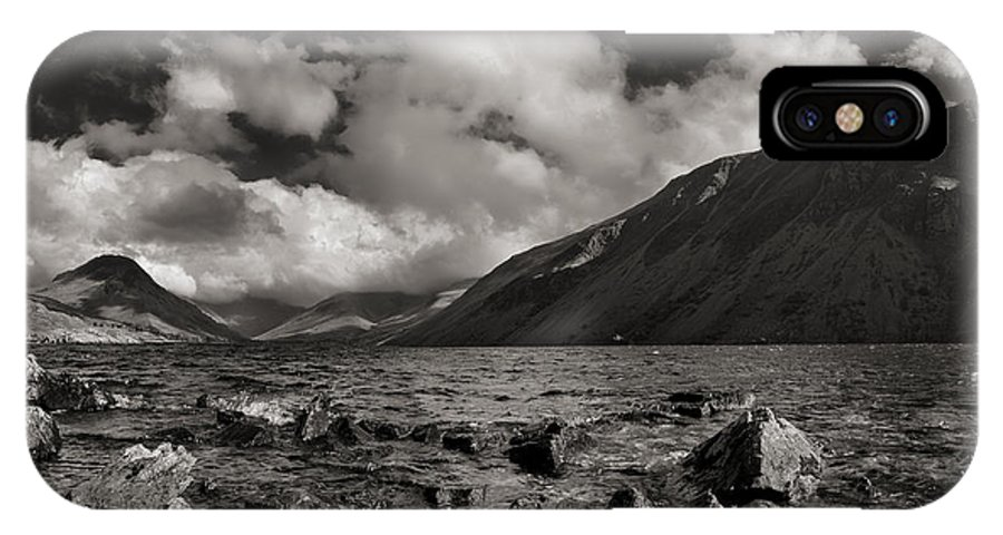 Landscape IPhone X Case featuring the photograph Wastwater by Graham Moore