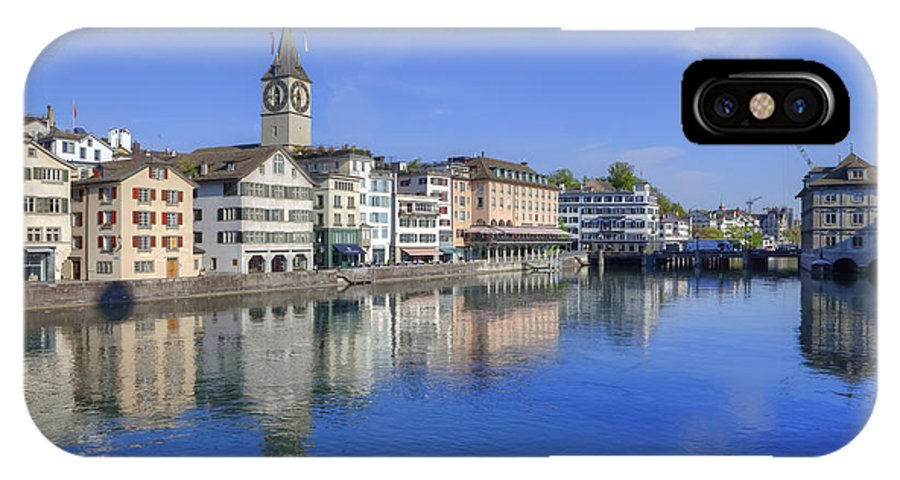 St. Peter IPhone X Case featuring the photograph Zurich by Joana Kruse