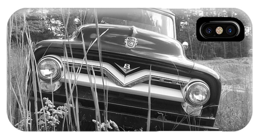 56 Ford IPhone X Case featuring the photograph 56 Classic by Kendra DeBerry