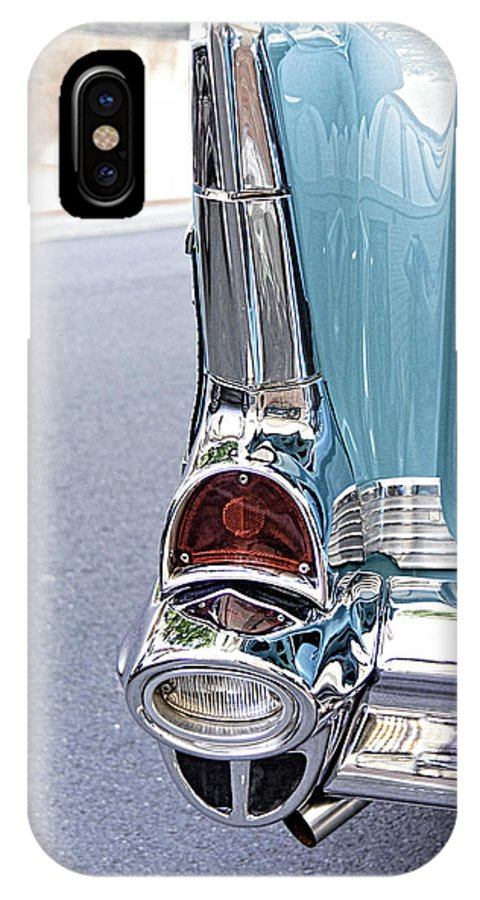 57 Chevy IPhone X Case featuring the photograph 57 Chevy by Brenda Hackett
