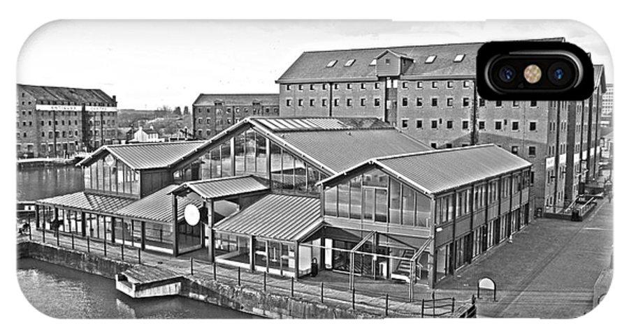 Gloucester IPhone X Case featuring the photograph Gloucester Docks by Luis Alvarenga