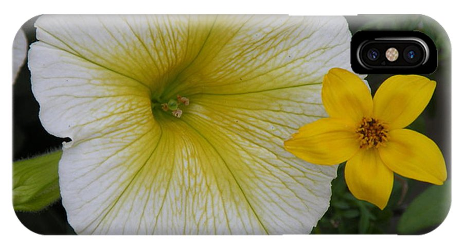 Flowers IPhone X Case featuring the photograph Simplicity by Jeffrey Akerson