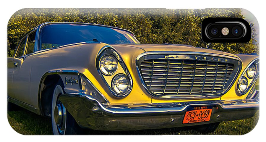 Classic Car IPhone X Case featuring the photograph 61 New Yorker by Daniel Enwright