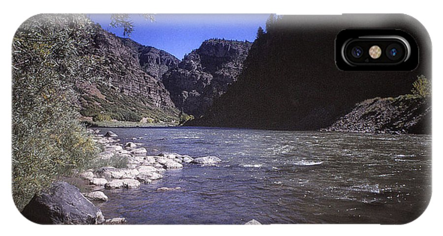 Print IPhone X Case featuring the photograph 671 Sl Big River by Chris Berry