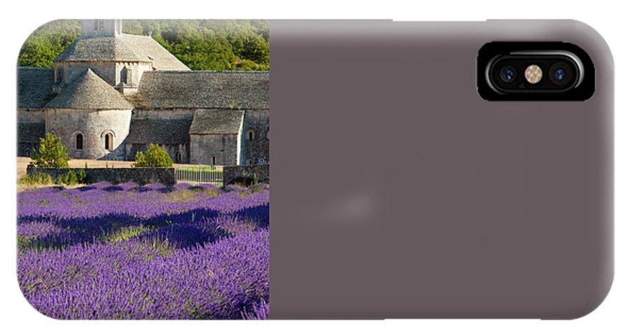 Abbaye IPhone X Case featuring the photograph Abbaye De Senanque by Brian Jannsen
