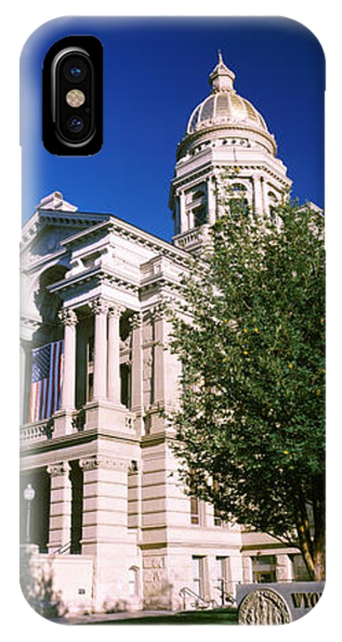 Photography IPhone X Case featuring the photograph Facade Of A Government Building by Panoramic Images