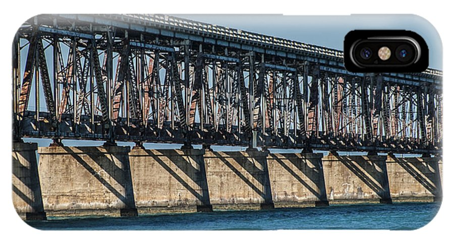 Florida Keys IPhone X Case featuring the photograph 7 Mile Bridge by Kevin Cable