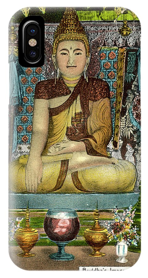 Buddha IPhone X Case featuring the photograph Siddhartha Gautama, Known by Mary Evans Picture Library
