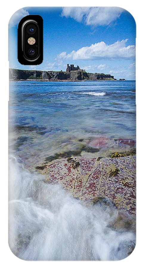 Tantallon Castle IPhone X Case featuring the photograph Tantallon Castle by Keith Thorburn LRPS EFIAP CPAGB