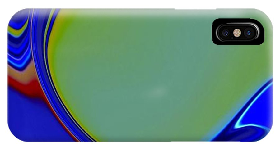 Yellow IPhone X Case featuring the photograph Abstract by HollyWood Creation By linda zanini