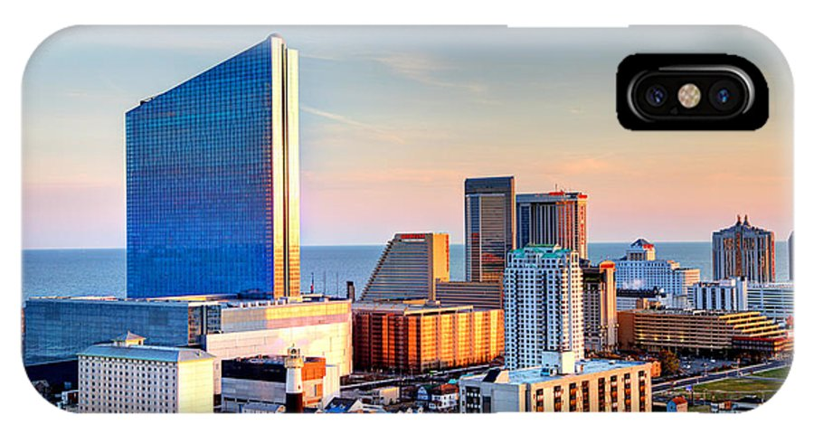 Atlantic City IPhone X Case featuring the photograph Atlantic City New Jersey by Denis Tangney Jr