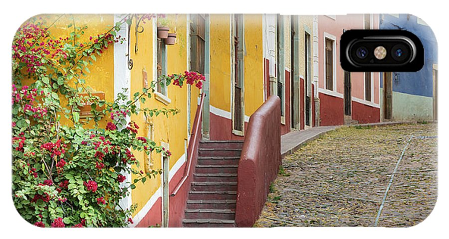 Blue IPhone X Case featuring the photograph Mexico, Guanajuato by Jaynes Gallery