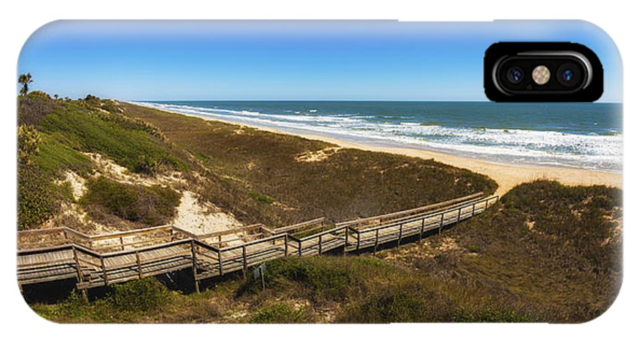 Atlantic Ocean IPhone X Case featuring the photograph Ponte Vedra Beach by Raul Rodriguez