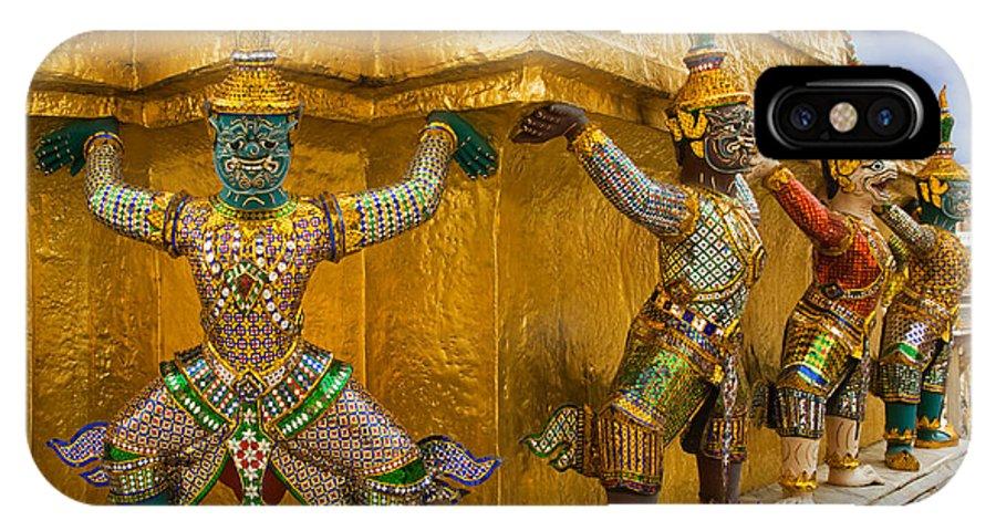 Ramakien IPhone X Case featuring the photograph Thailand by David Davis