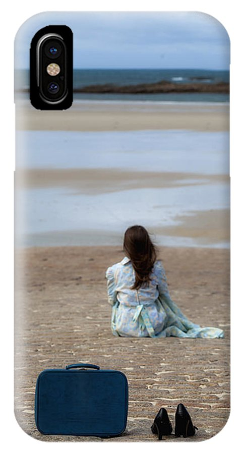 Woman IPhone X Case featuring the photograph Waiting by Joana Kruse