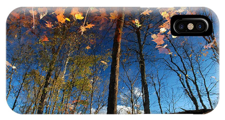 Autumn IPhone X Case featuring the photograph A Different Side Of Autumn by Jason Kolenda