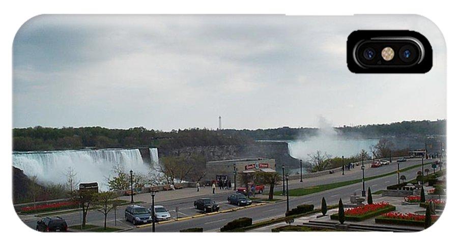 Niagara Falls IPhone Case featuring the photograph A Favorite Walkway by Barbara McDevitt