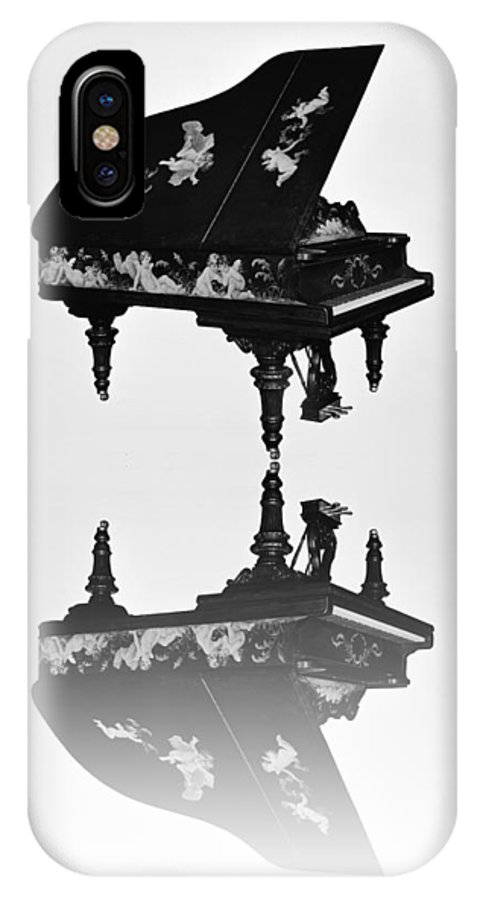 A IPhone X Case featuring the photograph A Grand Piano by Bill Cannon