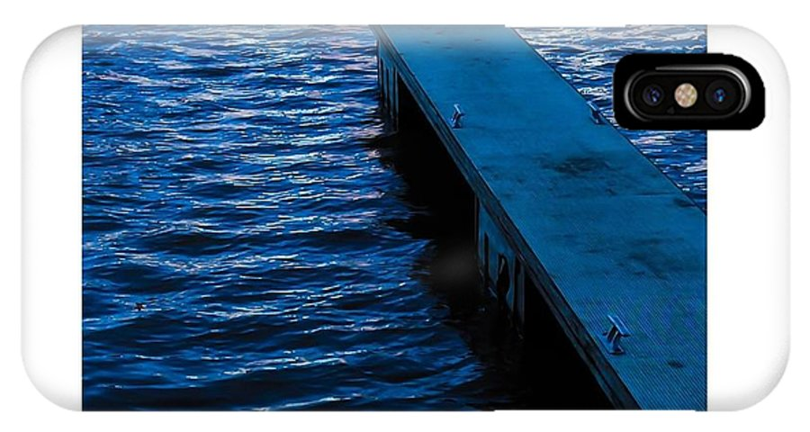 Jetty IPhone X Case featuring the photograph A Jetty's Life by Paul Tully