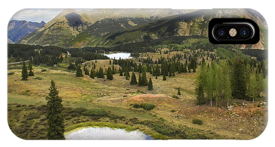 Colorado Mountains IPhone X Case featuring the photograph A Mountain Drive In Colorado by Mike McGlothlen