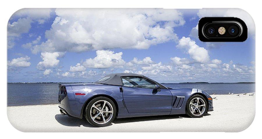 Dream Car IPhone X Case featuring the digital art A Photographers Dream by Gail Campbell