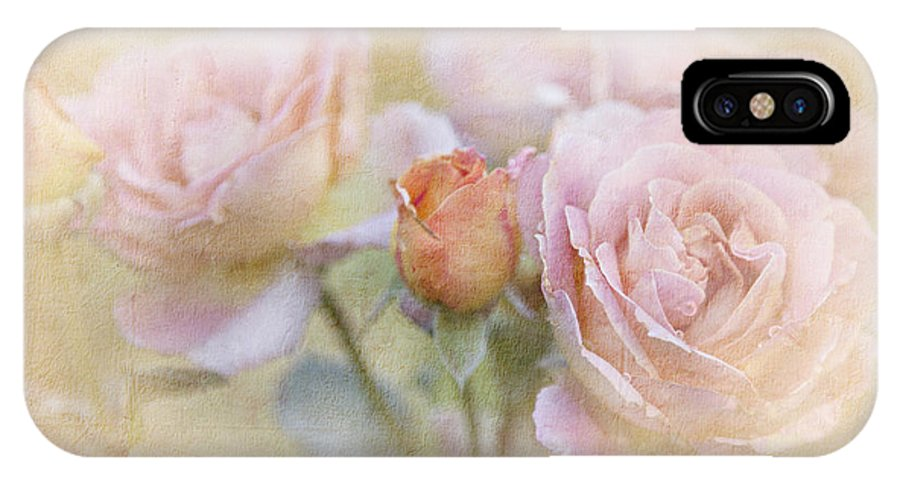 Blossoms IPhone X Case featuring the photograph A Rose By Any Other Name by Theresa Tahara