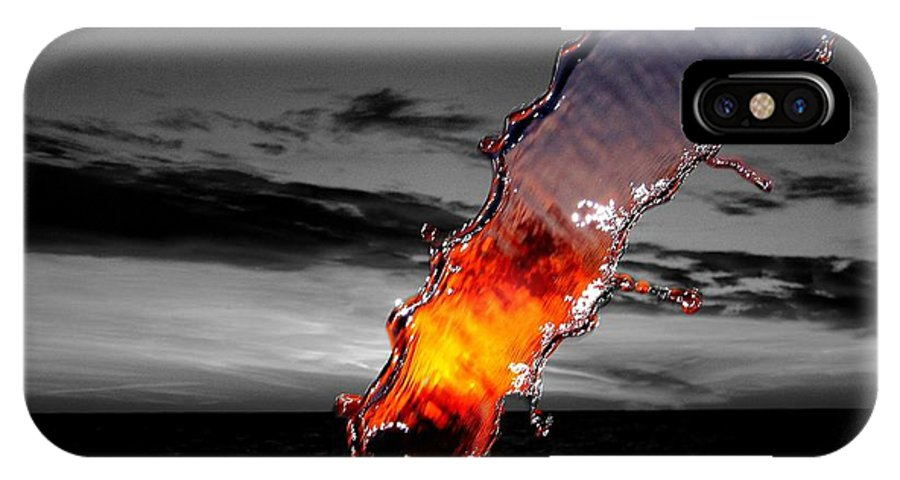 #donniefreeman IPhone X Case featuring the photograph A Splash Of Color by Donnie Freeman